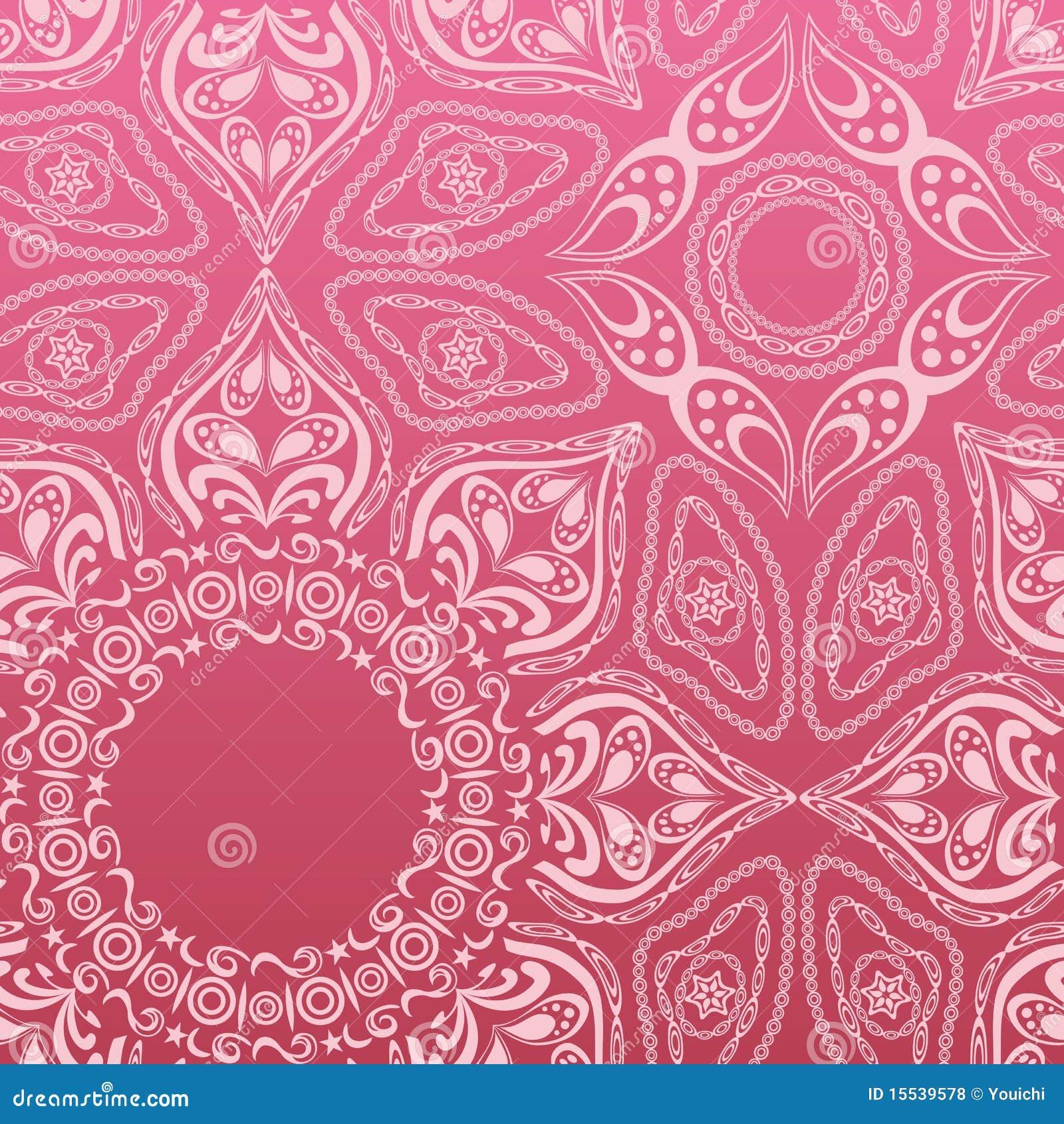 Pink Mandala Pattern Royalty Free Stock Photos Image