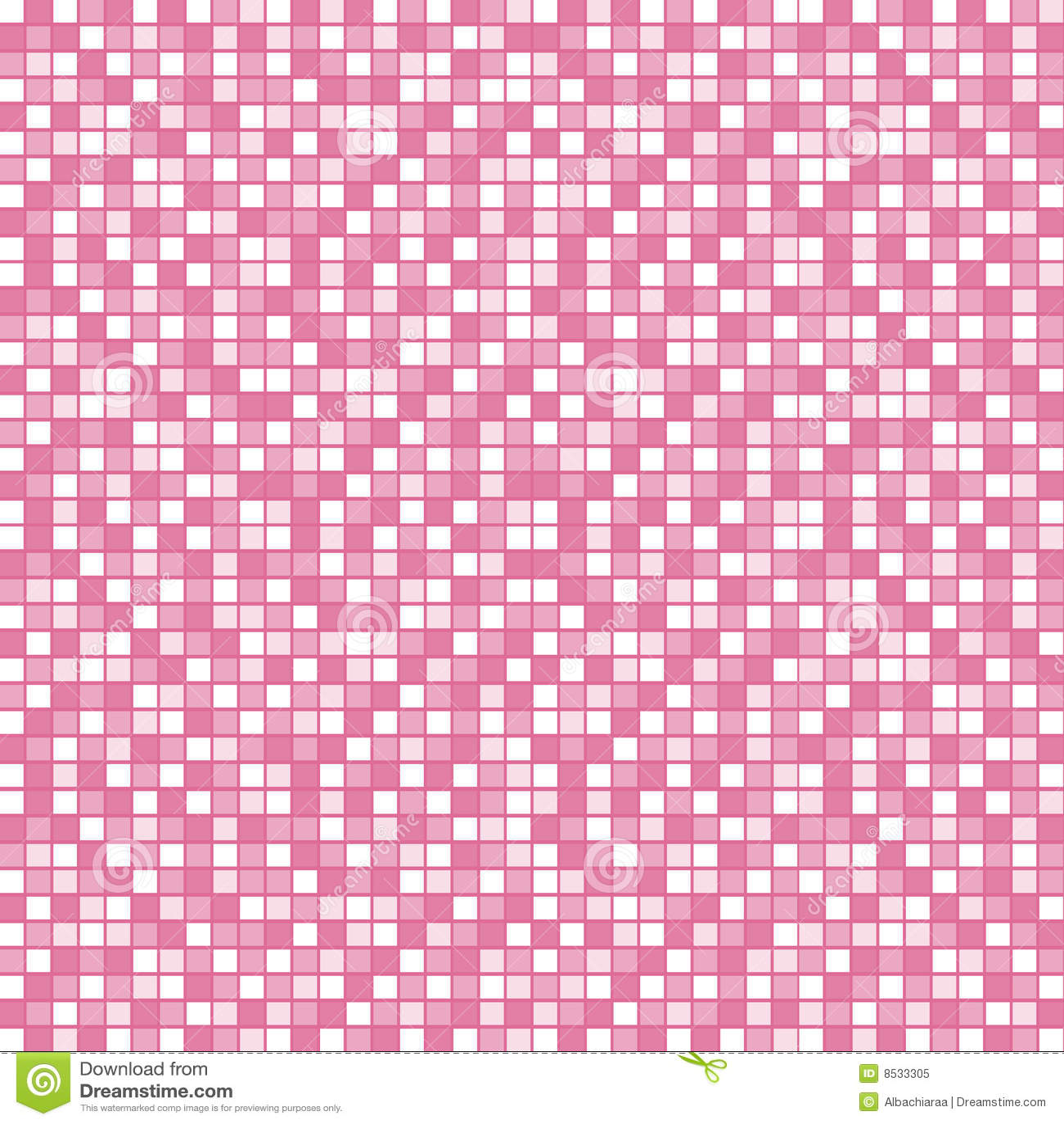 Pink mosaic stock vector. Illustration of floor, girl - 8533305
