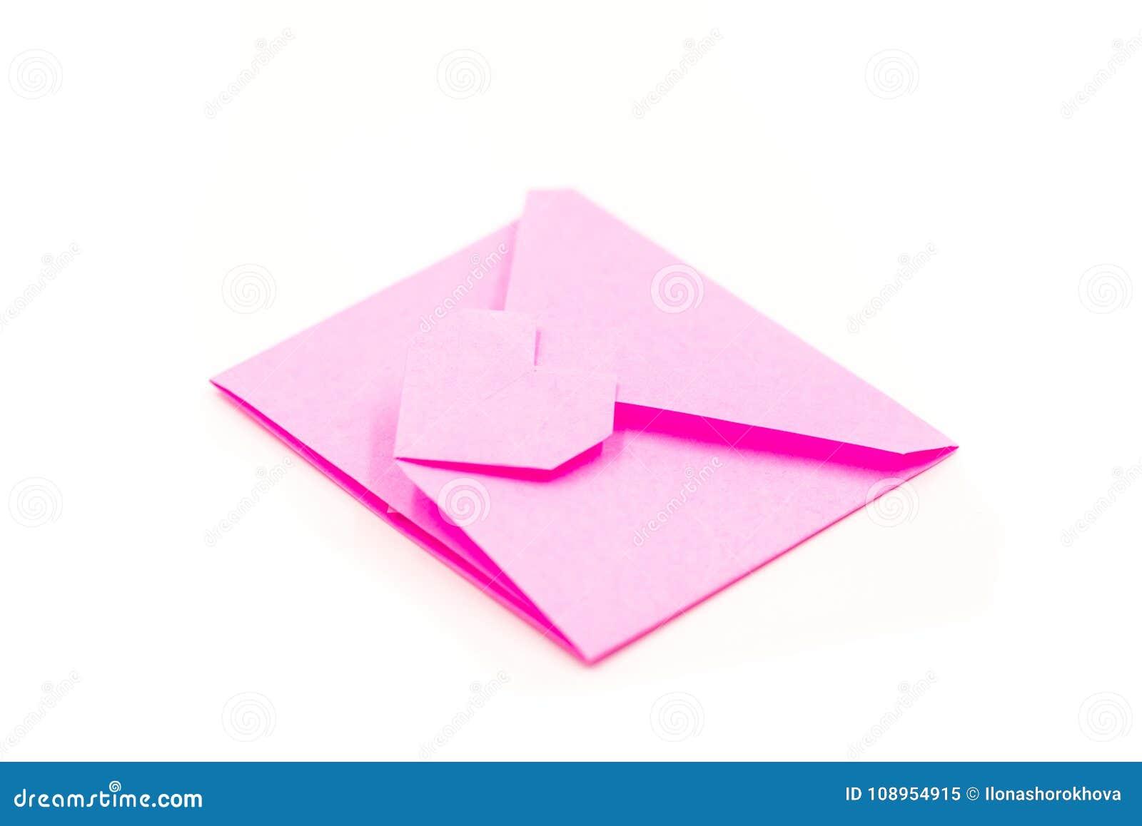 Easy Origami Envelope Making Tutorial - DIY Paper Envelope… | Flickr | 957x1300