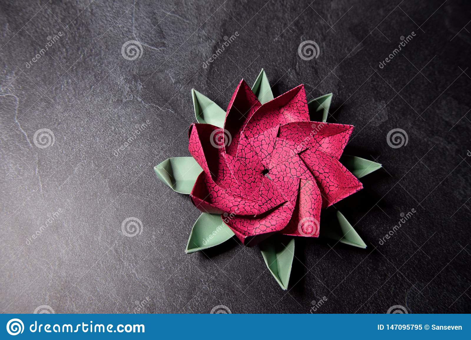3d origami lotus flower tutorials || how to make an origami lotus ... | 1155x1600