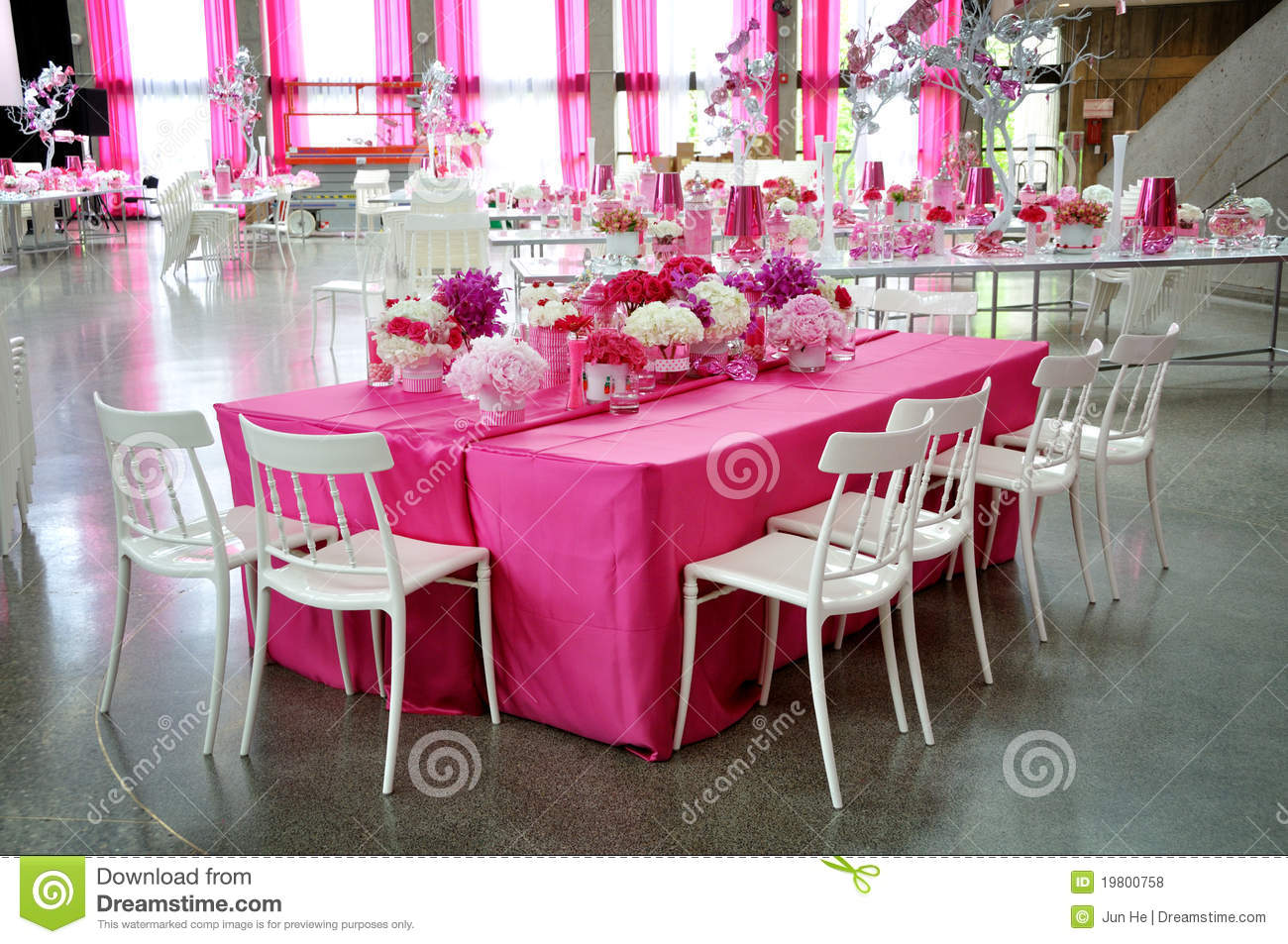 Pink Party Royalty Free Stock Photos - Image: 19800758