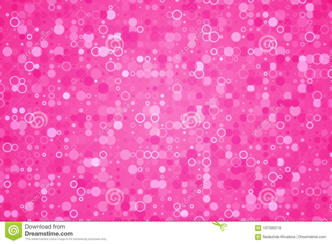 Pink Pattern With Glitter Effect Cute Background Stock Vector Illustration Of Magenta Graphic 107280218