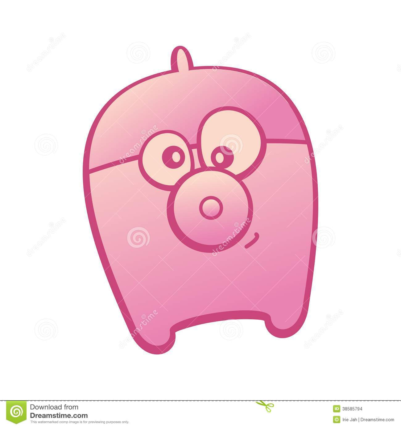 Pink Pig Stock Images - Image: 38585794