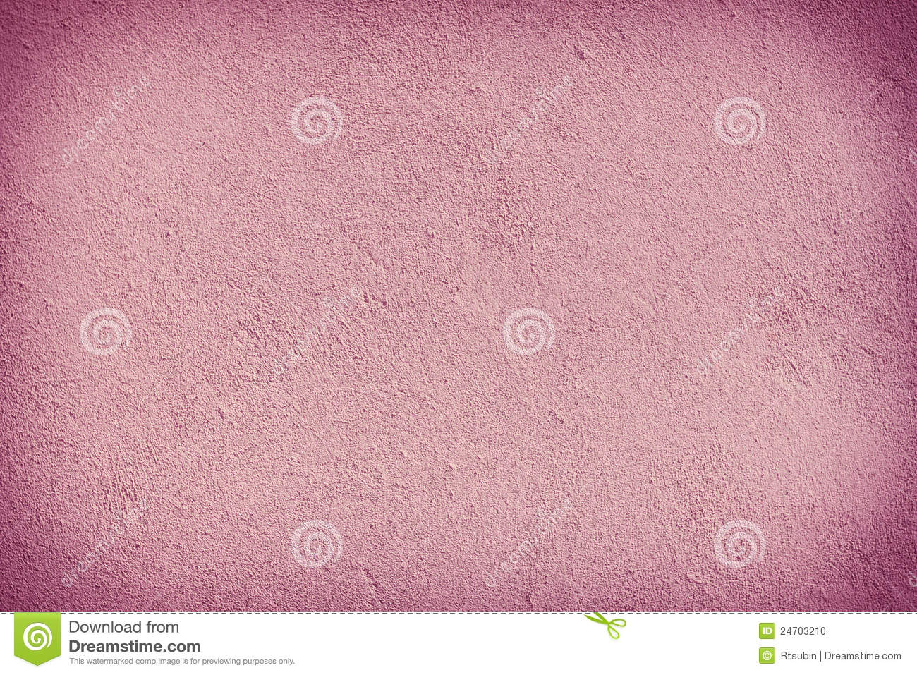 Pink Plaster Wall Texture Background Material Stock Photo
