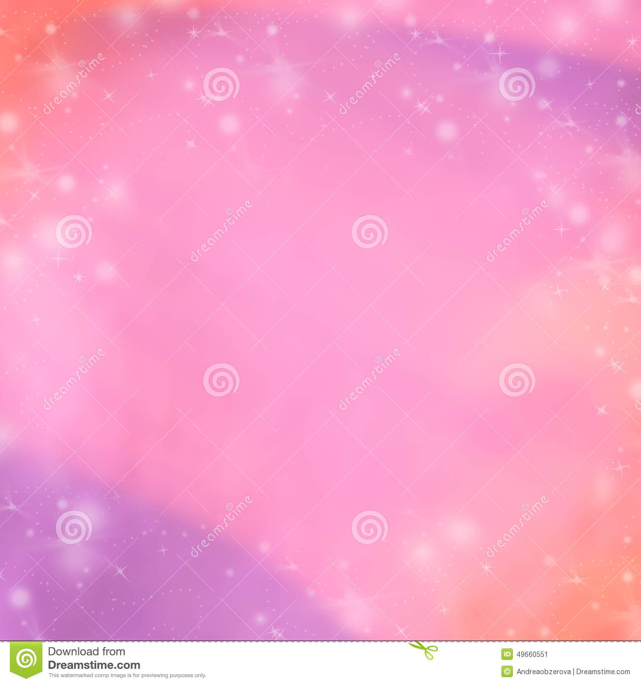 pink and purple abstract winter background blurred