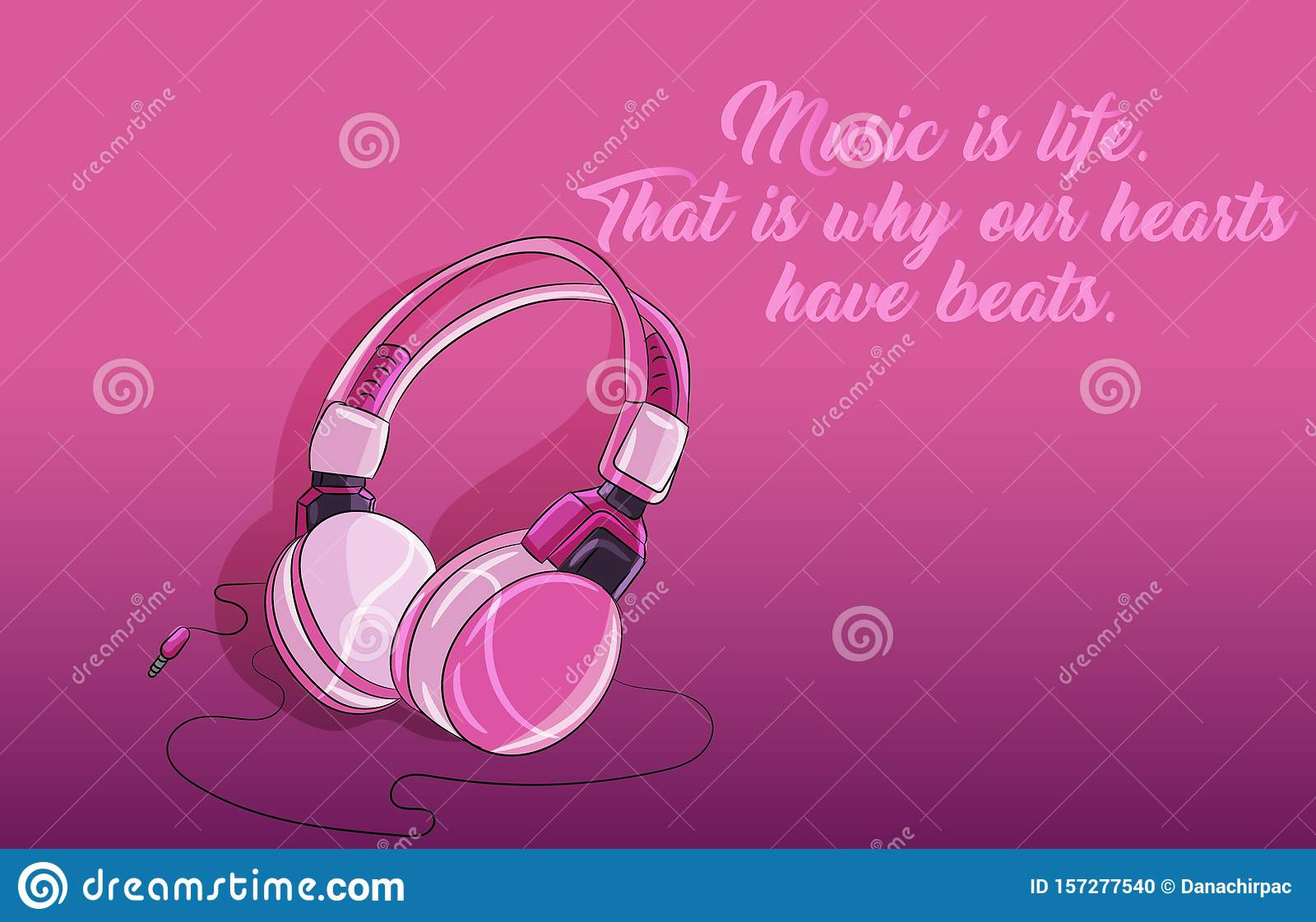 pink purple girly plastic shiny headphones quote music perfect pc desktop background 157277540