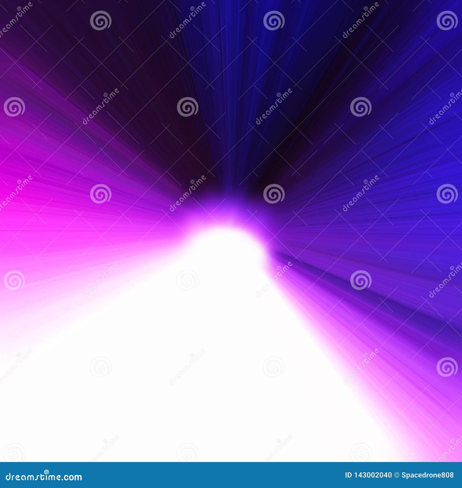 Pink And Purple Light Blast Bokeh Background Stock