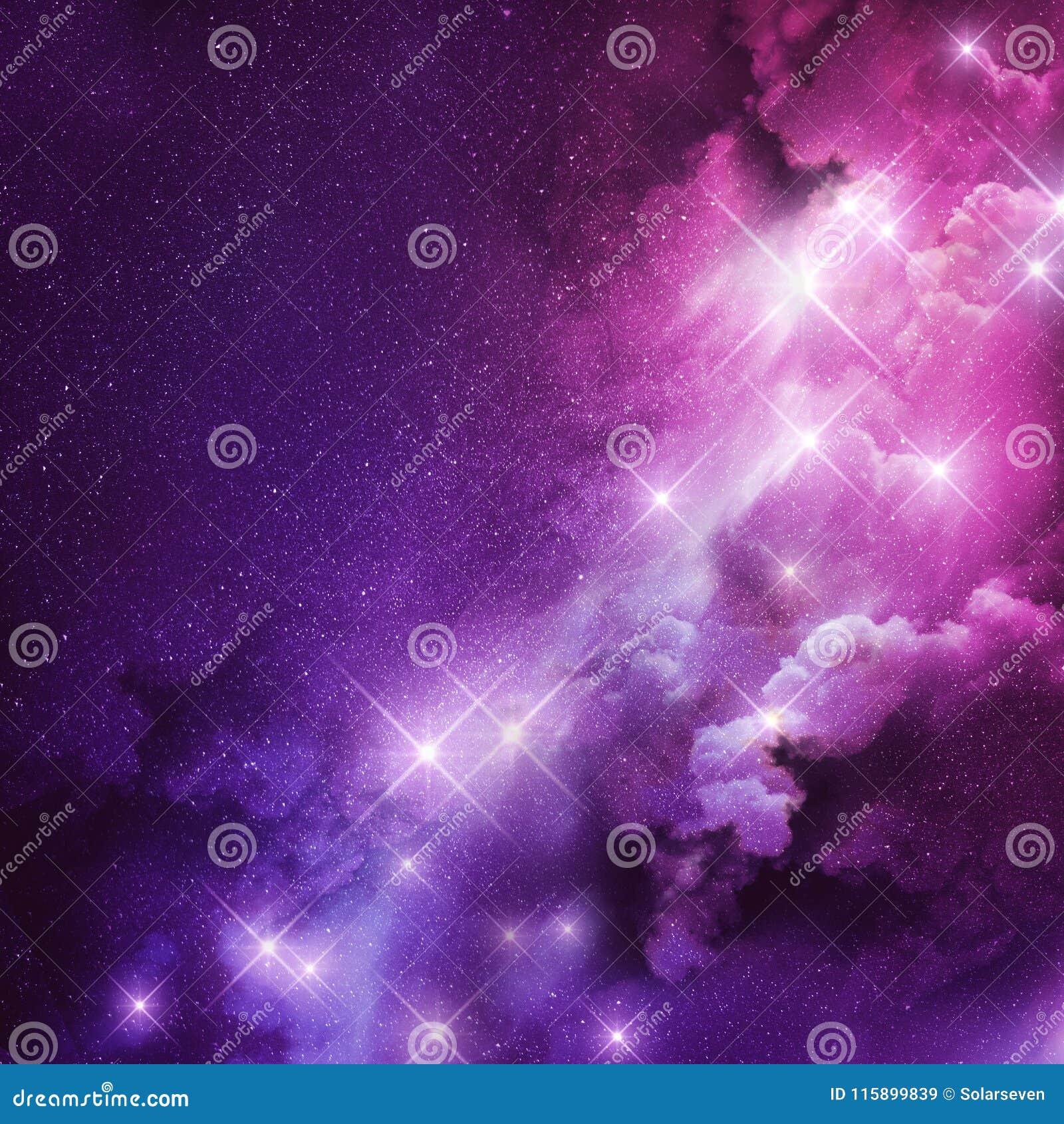 Pink and Purple Nebula