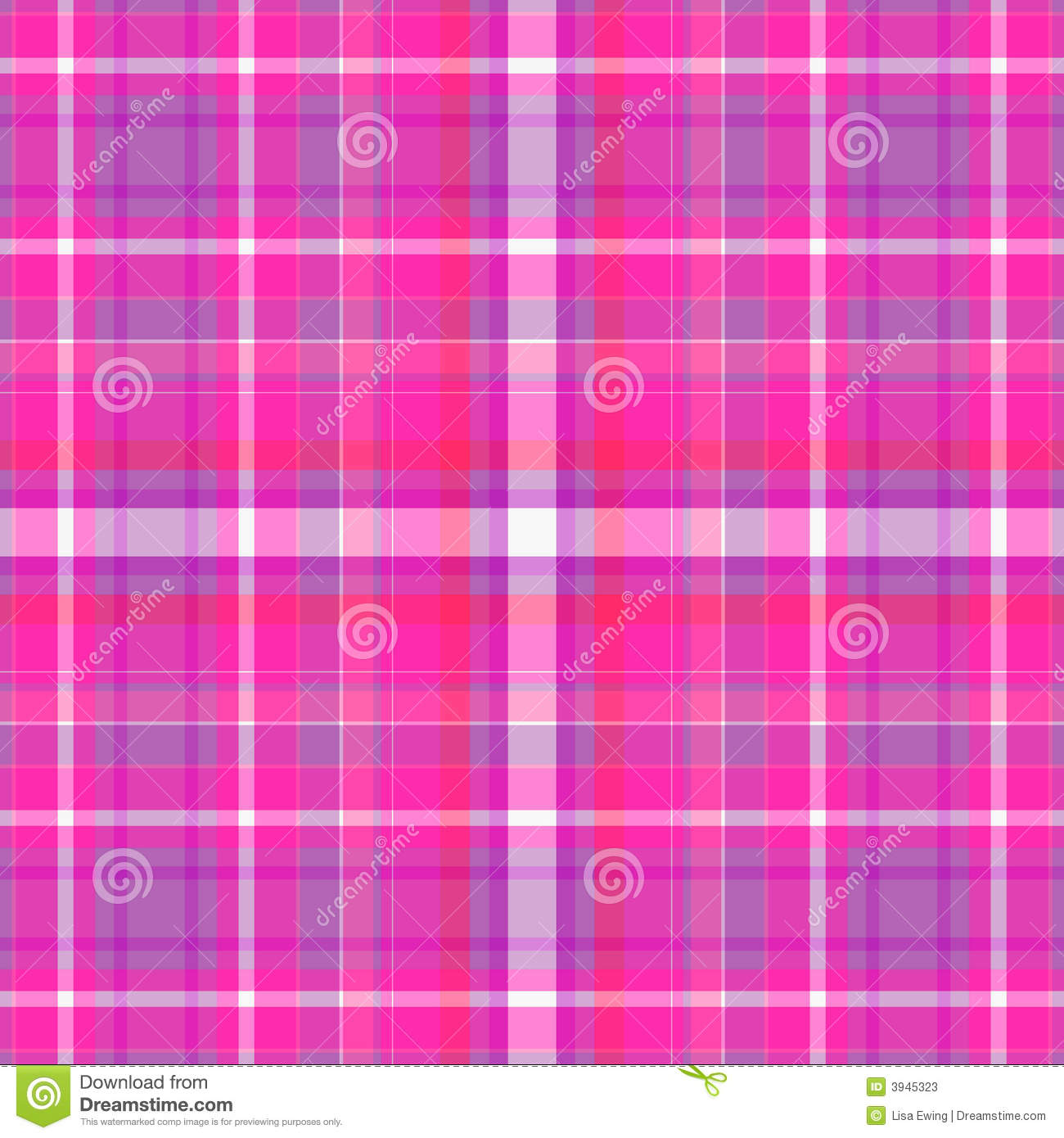 pink and purple plaid background stock illustration