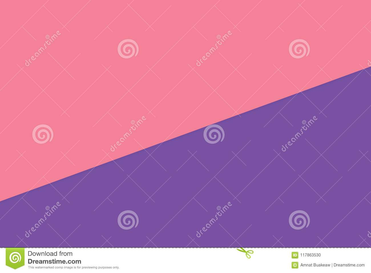 Pink Purple Two Color Soft Paper Pastel Background Minimal Flat