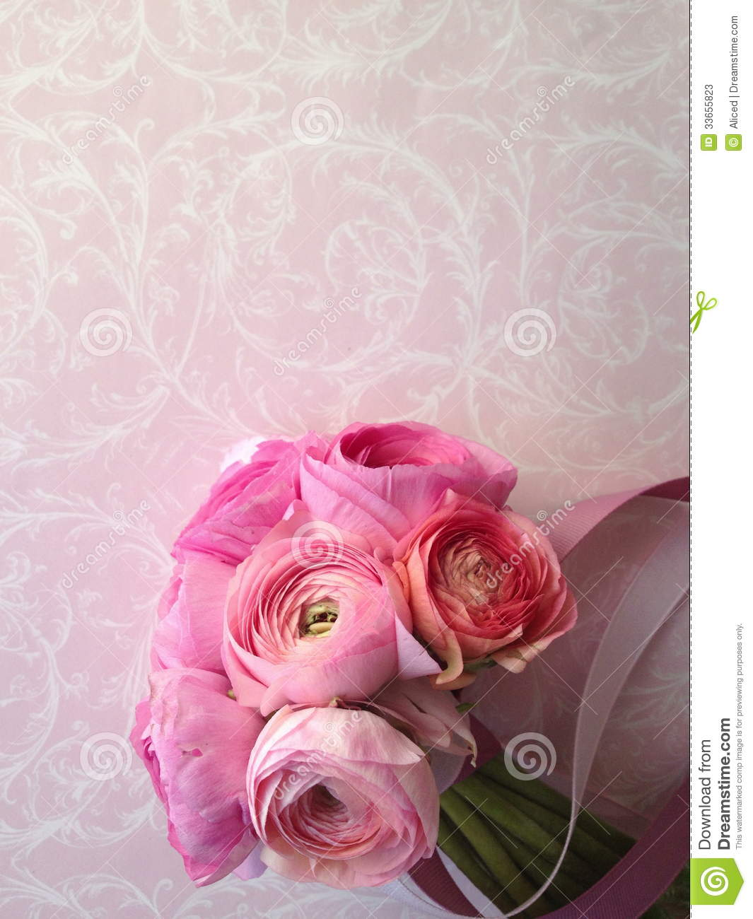 swirly roses background bouquet - photo #2