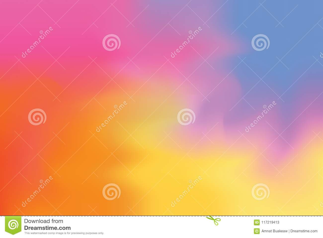 Pink Red Yellow Blue Soft Color Mixed Background Painting ...