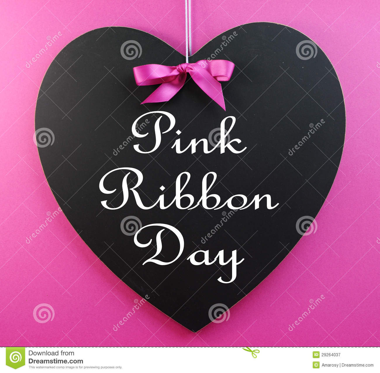 pink ribbon day message written on a heart shape Cancer Ribbon Silhouette Cancer Ribbon SVG