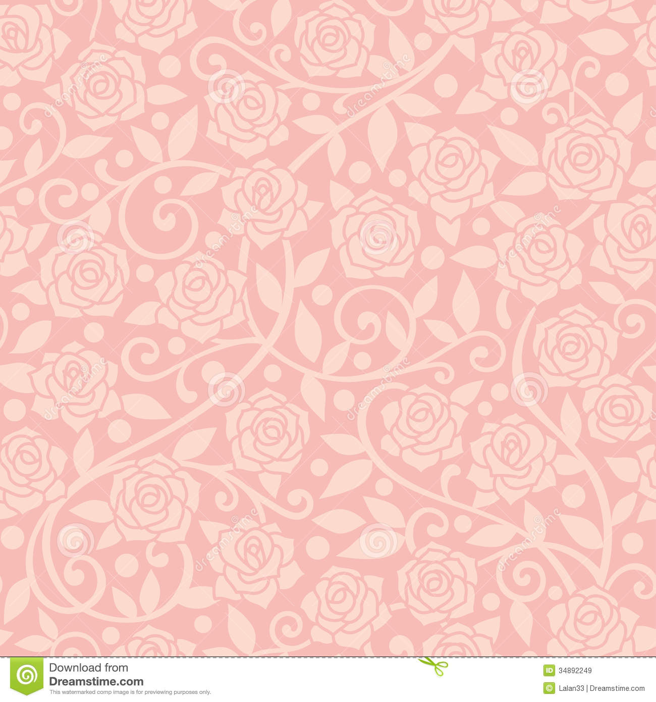 Pink Rose Background Wallpaper