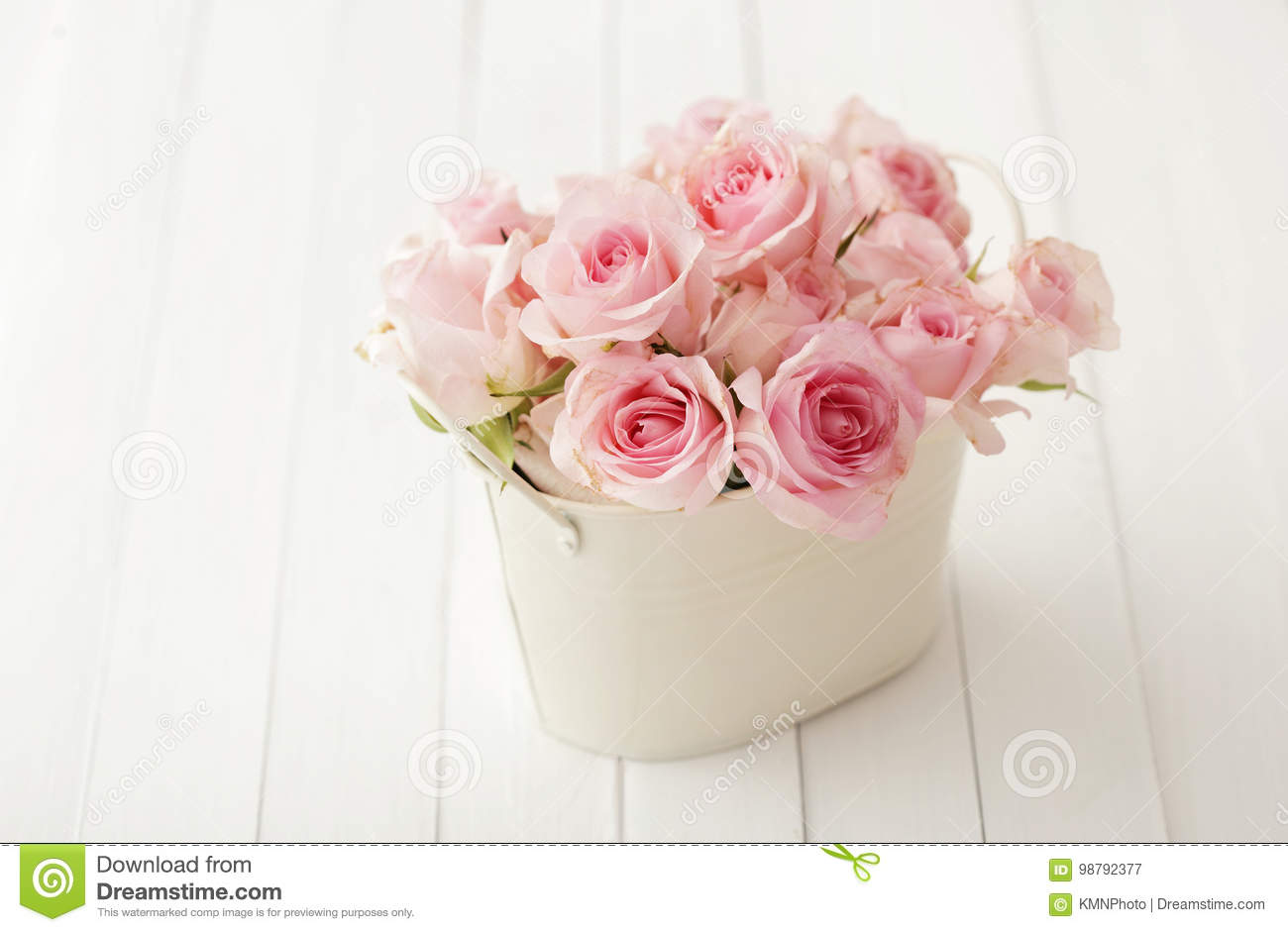 Shabby Chic Colors For Walls : Flowers in a vase stock image image of chic bloom pastel