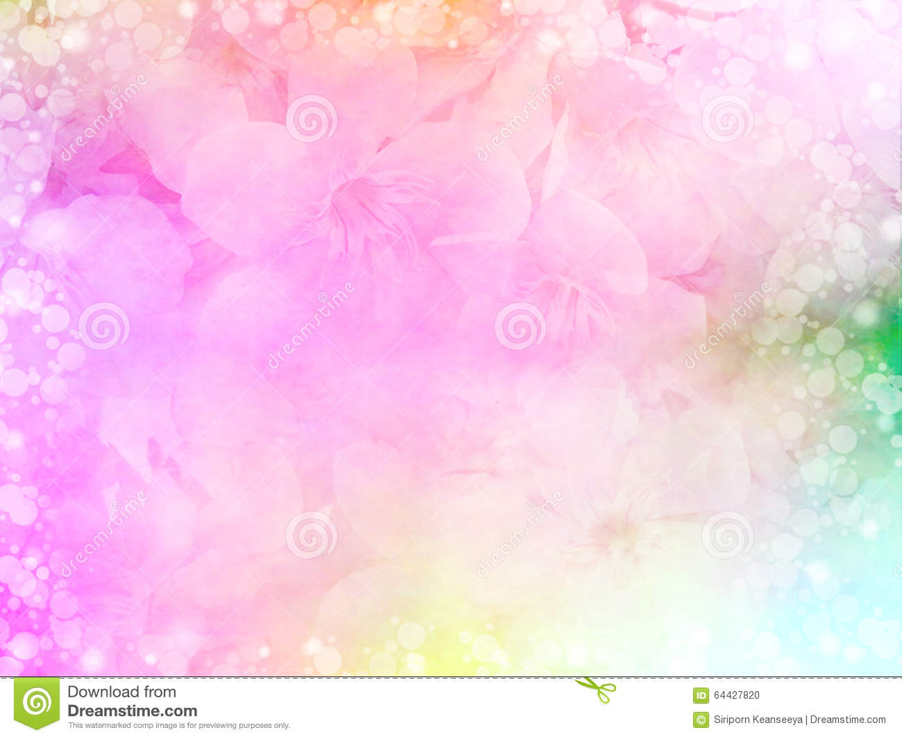 0d6d0e033b49 beautiful pink flower in pastel color with bokeh light border for love  concept