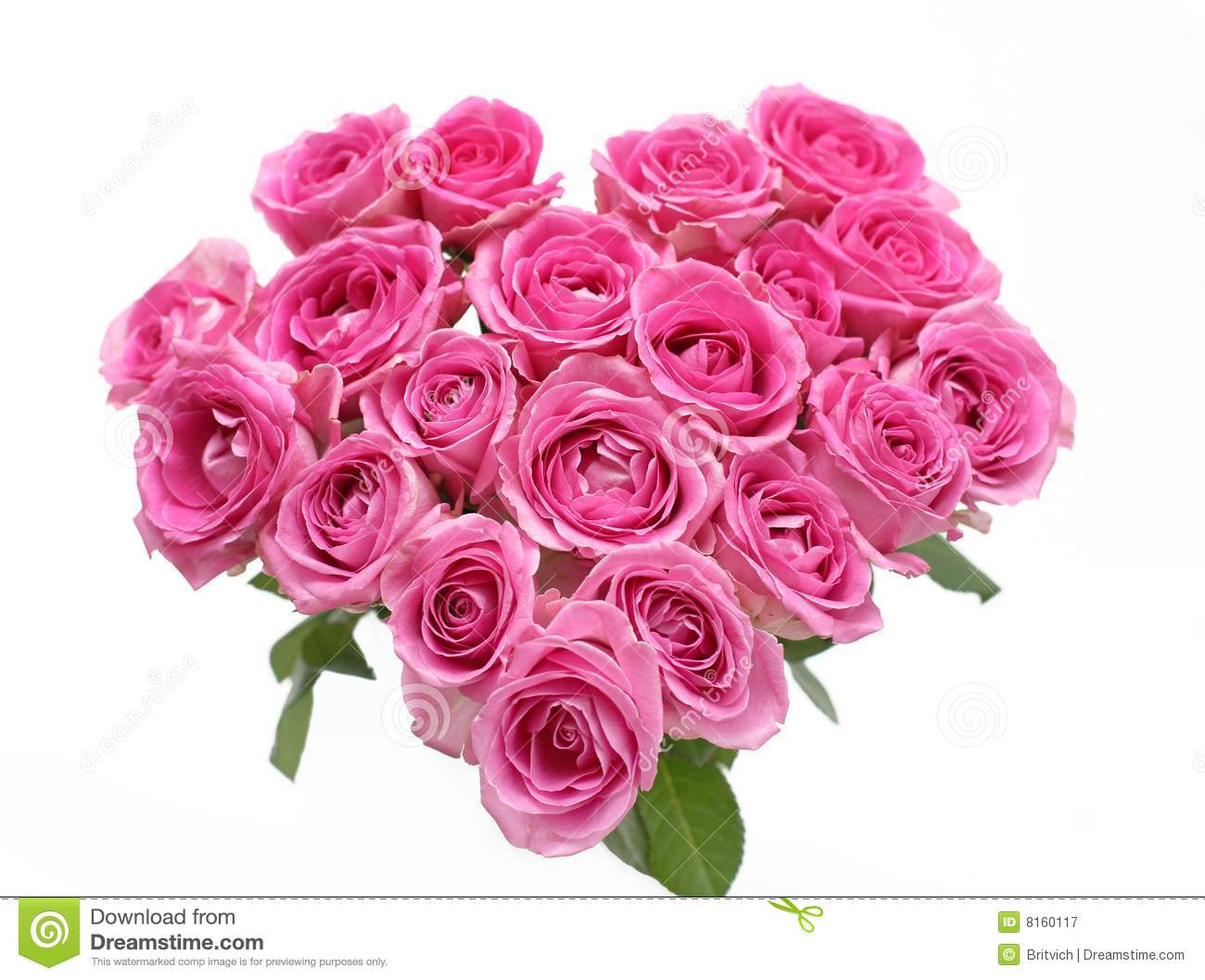 Pink roses heart Pink Roses And Hearts