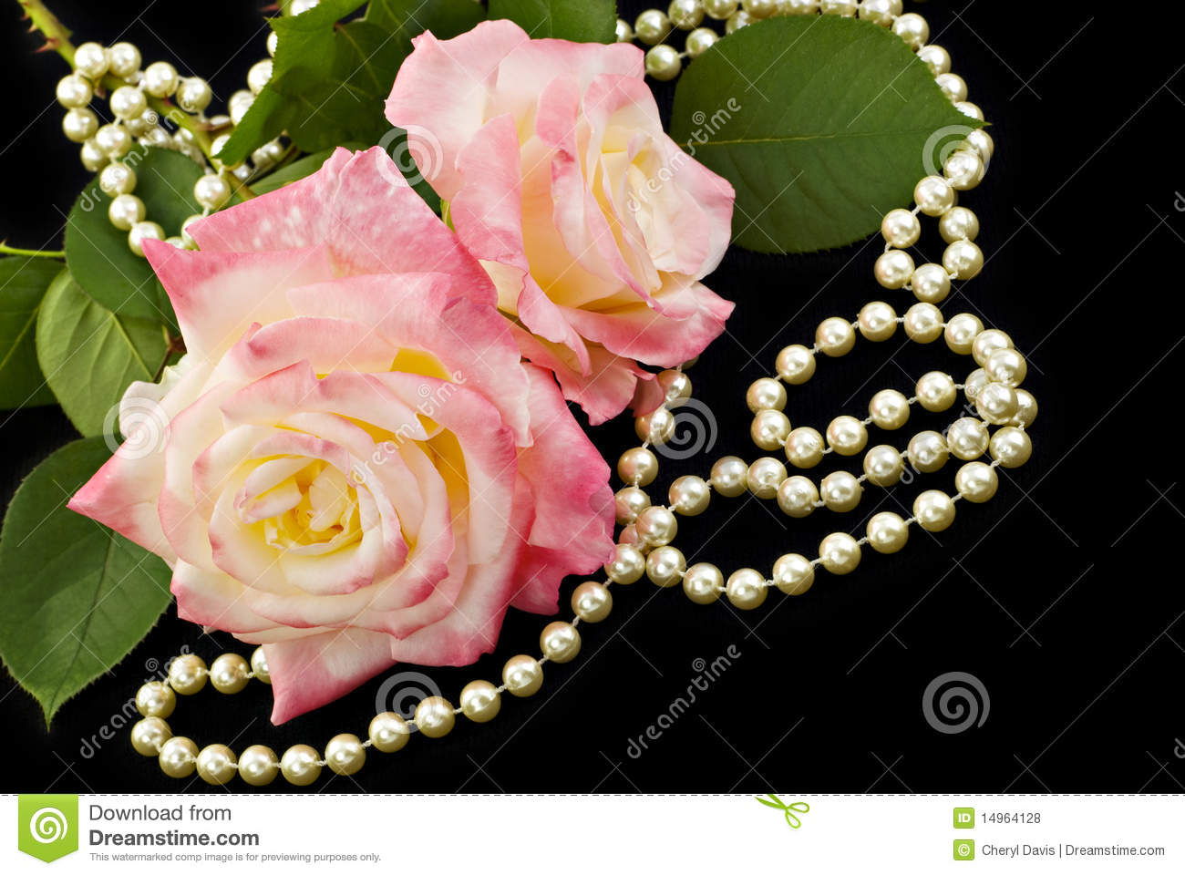 roses and pearls - photo #25