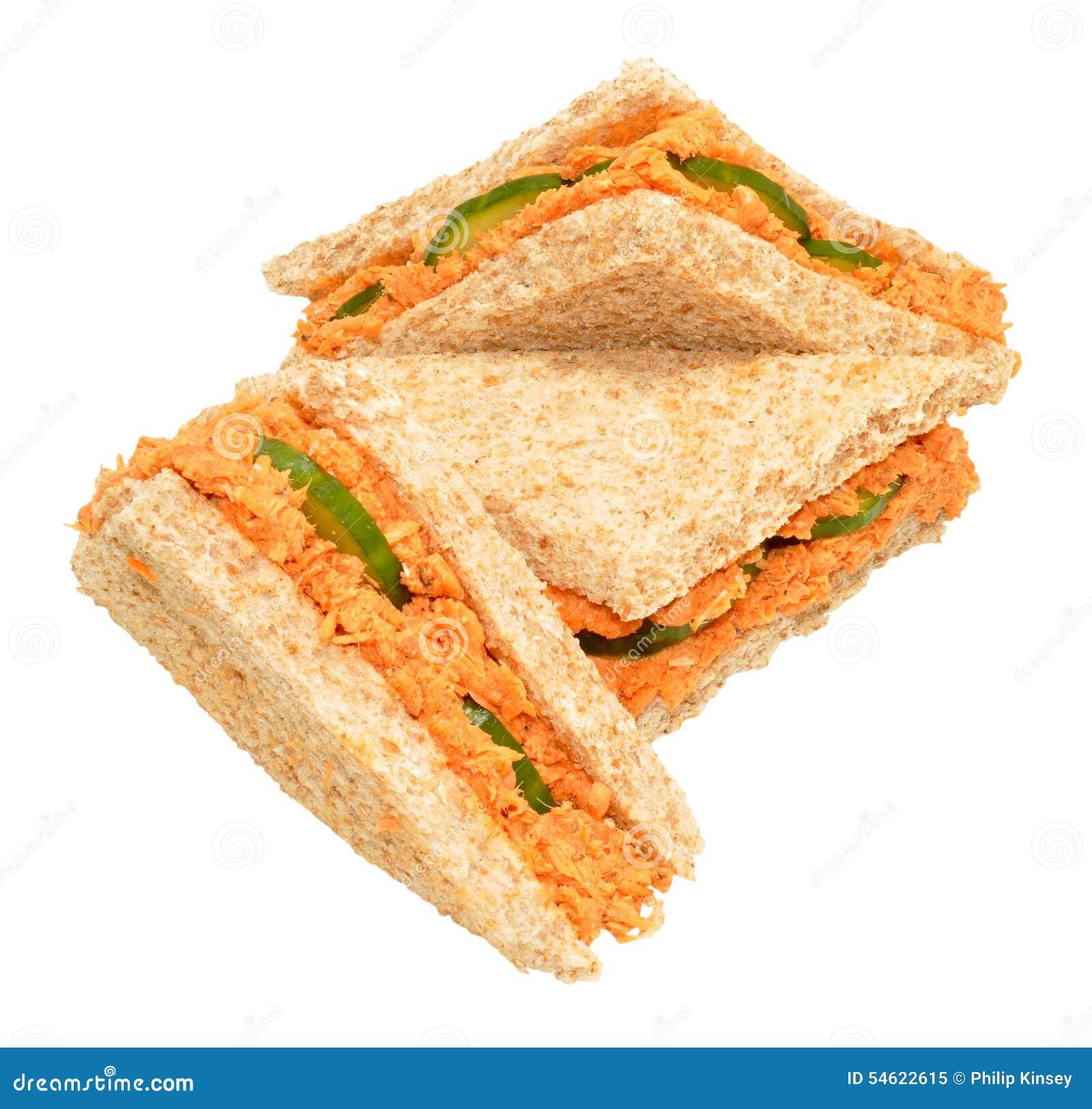 Cuke Sandwiches Representing