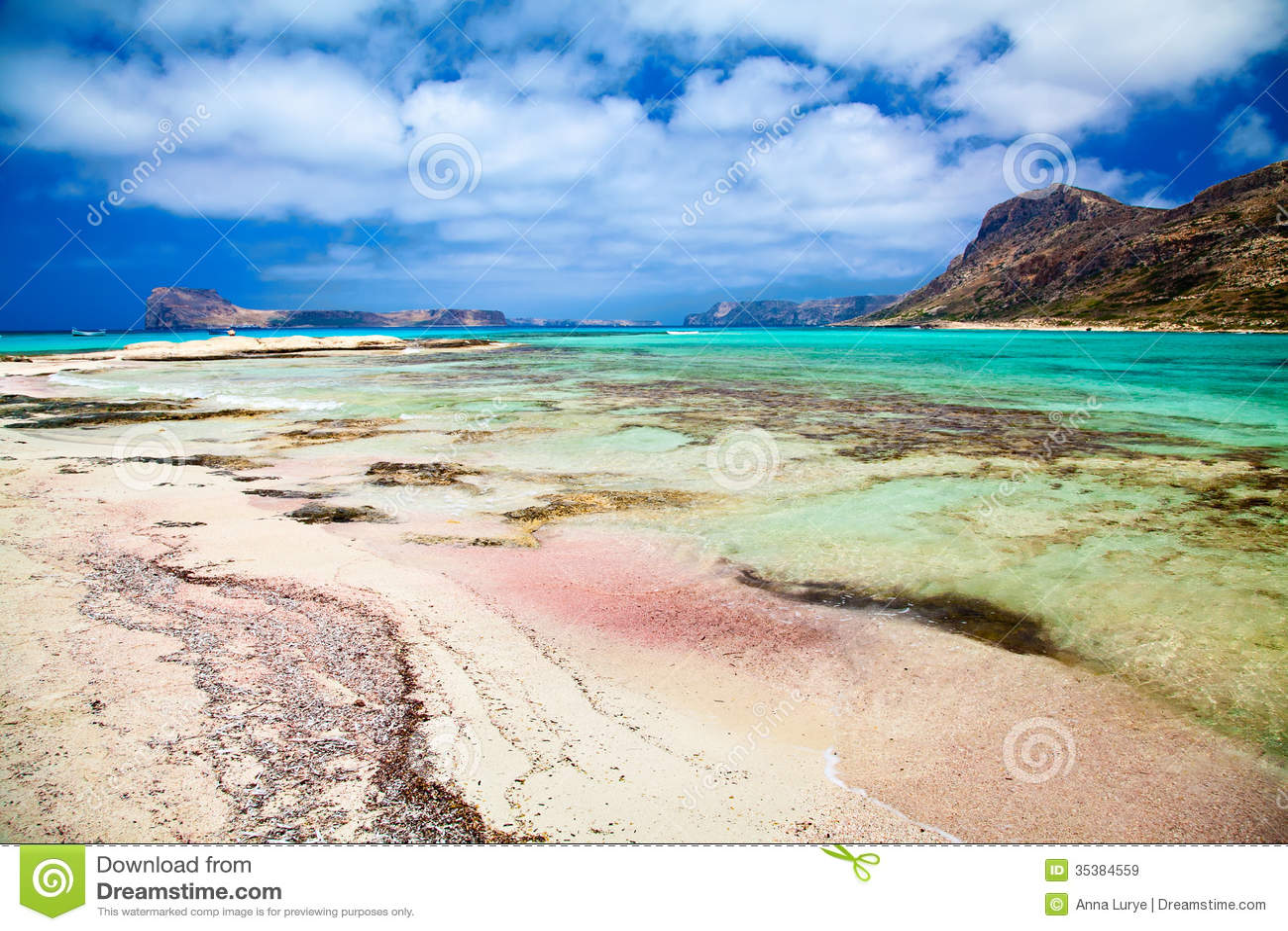 Beach Crete Pink Sand