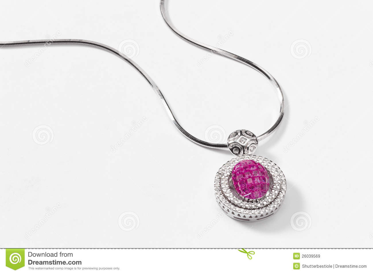 necklace pink i gold chopard pendant happy sapphire white cross