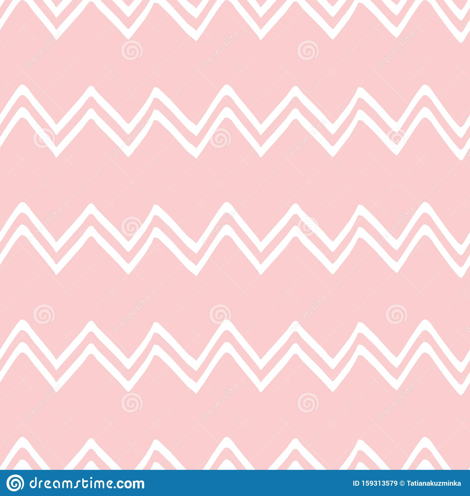 Pink Seamless Pattern Zig Zaggeometric Pink Ornamental Background Baby Shower Sweet Girl Background Stock Illustration Illustration Of Gentle Invite 159313579