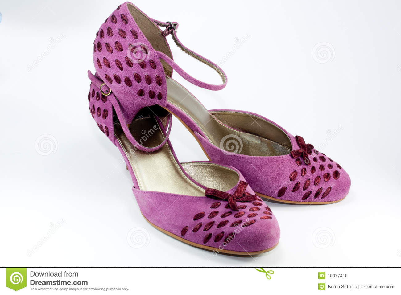 pink shoes royalty free stock photos image 18377418
