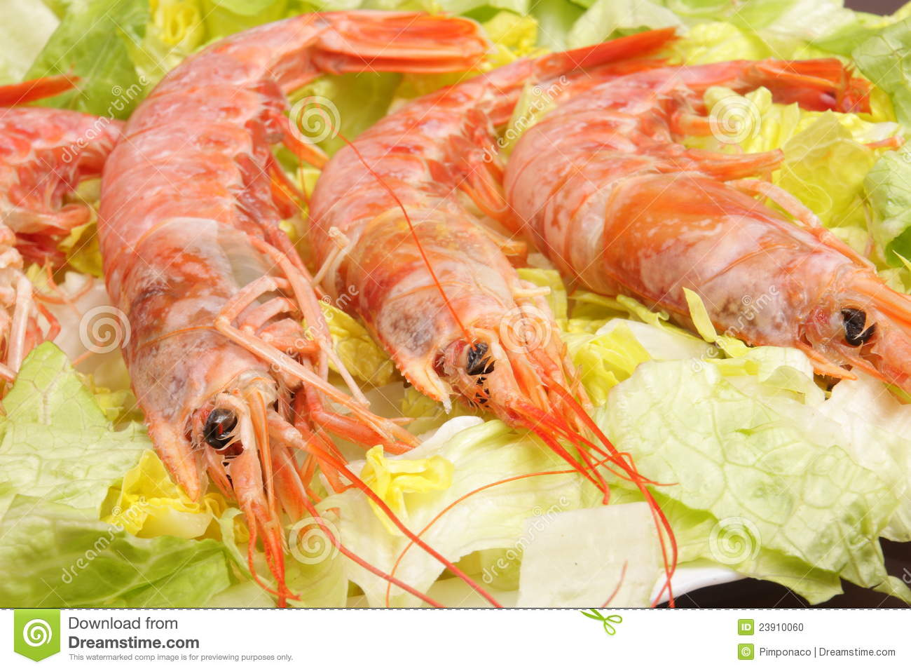 how to cook pink shrimp