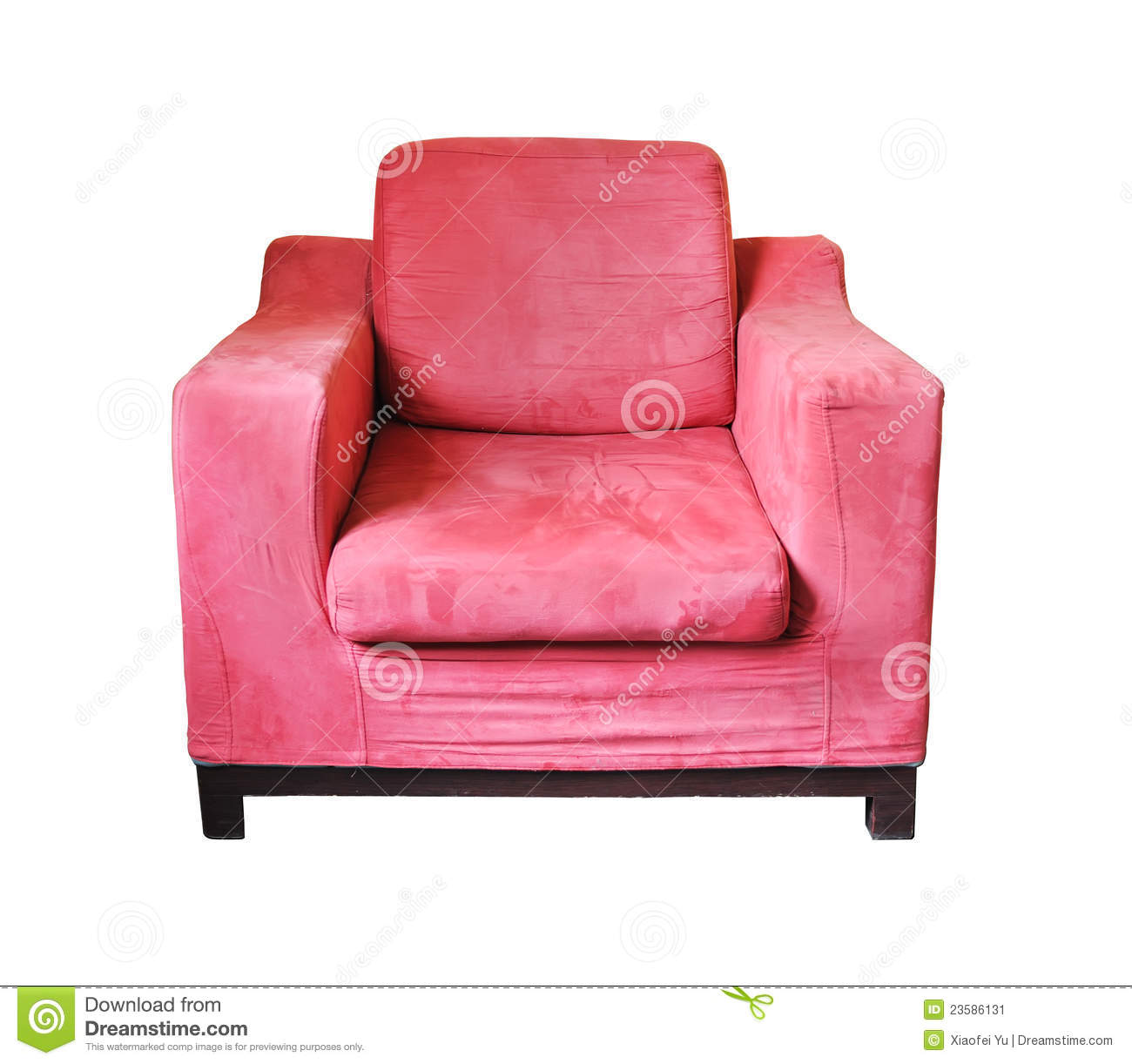 Pink Sofa Stock Image Image Of Colourful House Buckskin