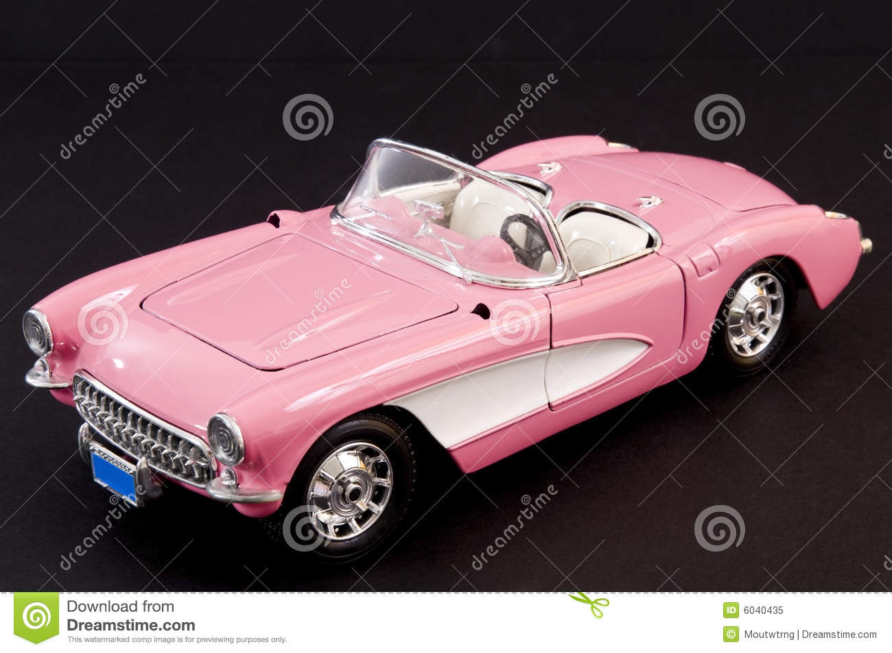 Pink Stylish Classic Sports Car Royalty Free Stock Photo  Image