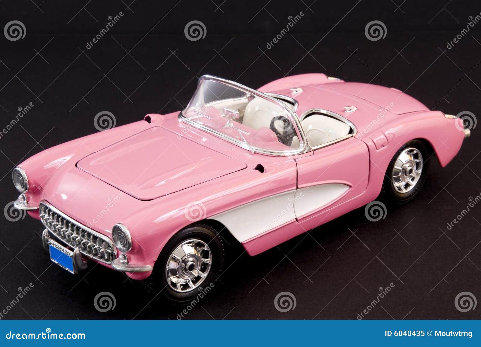 Pink Stylish Classic Sports Car Royalty Free Stock Photo