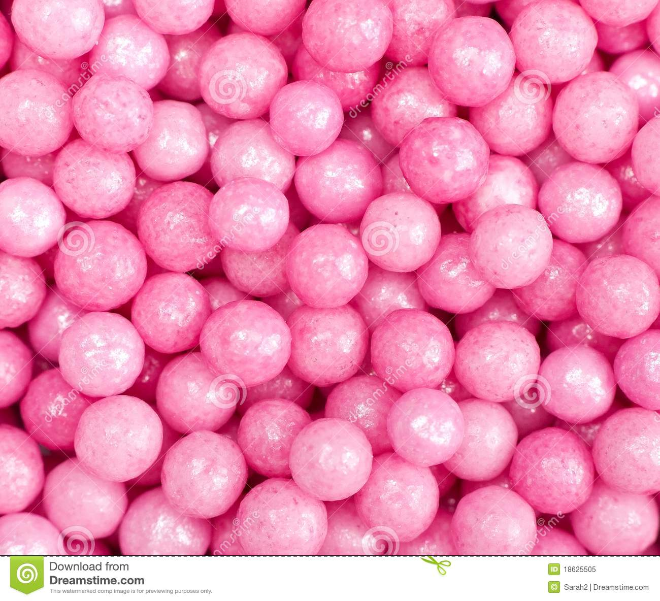Cake Decorating Sugar Balls : Pink Sugar Ball Cake Decorations Royalty Free Stock Photo ...