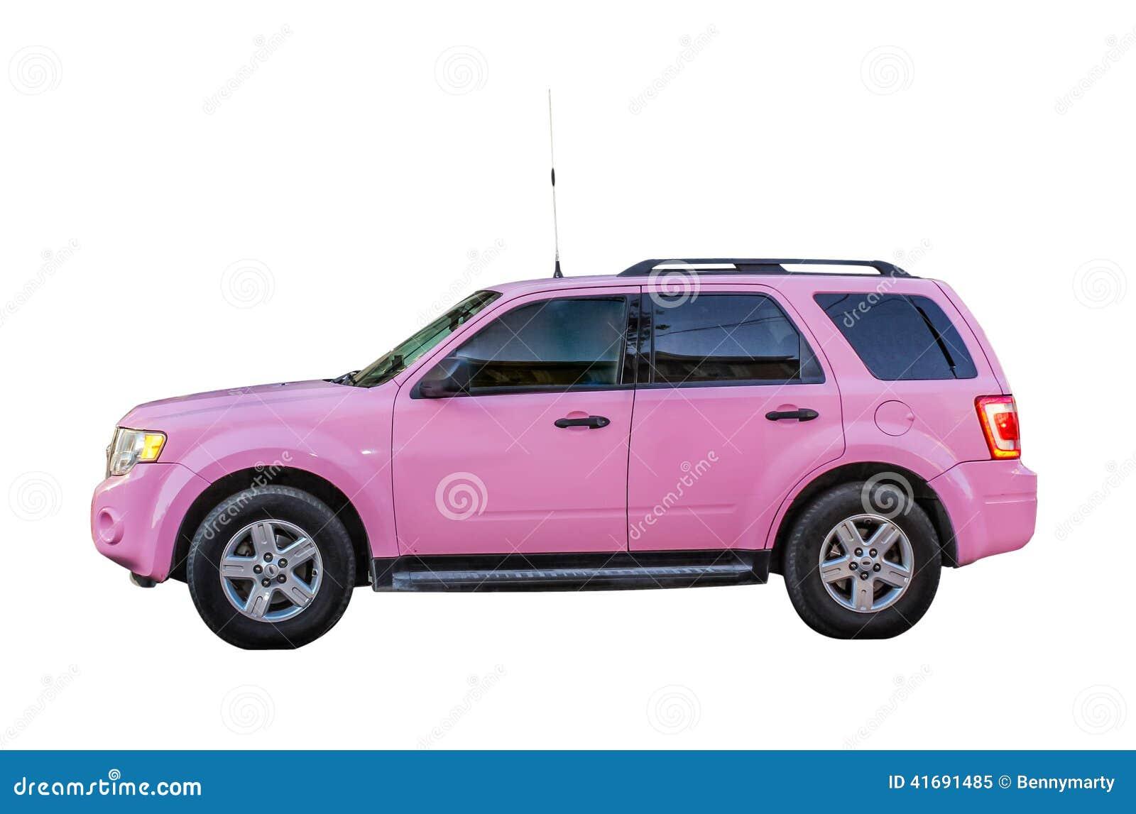 Range Rover Vector >> Pink SUV Stock Photo - Image: 41691485