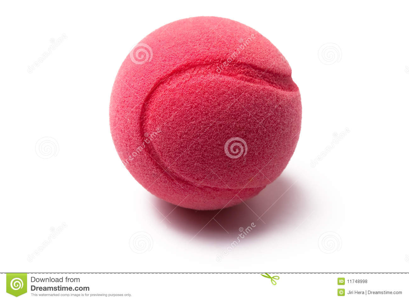 Pink Tennis Ball Royalty Free Stock Photos - Image: 11748998