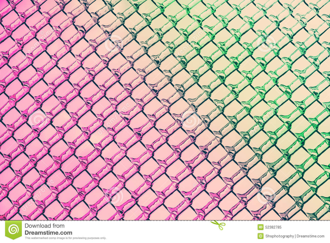 Pink To Green Colors In Ice Diamond Patterns Stock Image Image Of Cold Green 52382785