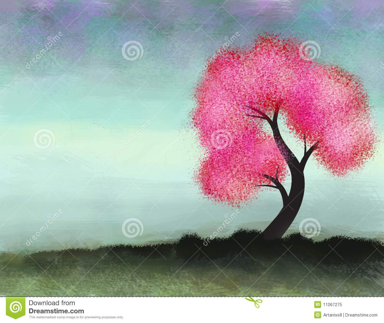 pink tree royalty free stock photo - Pink Trees