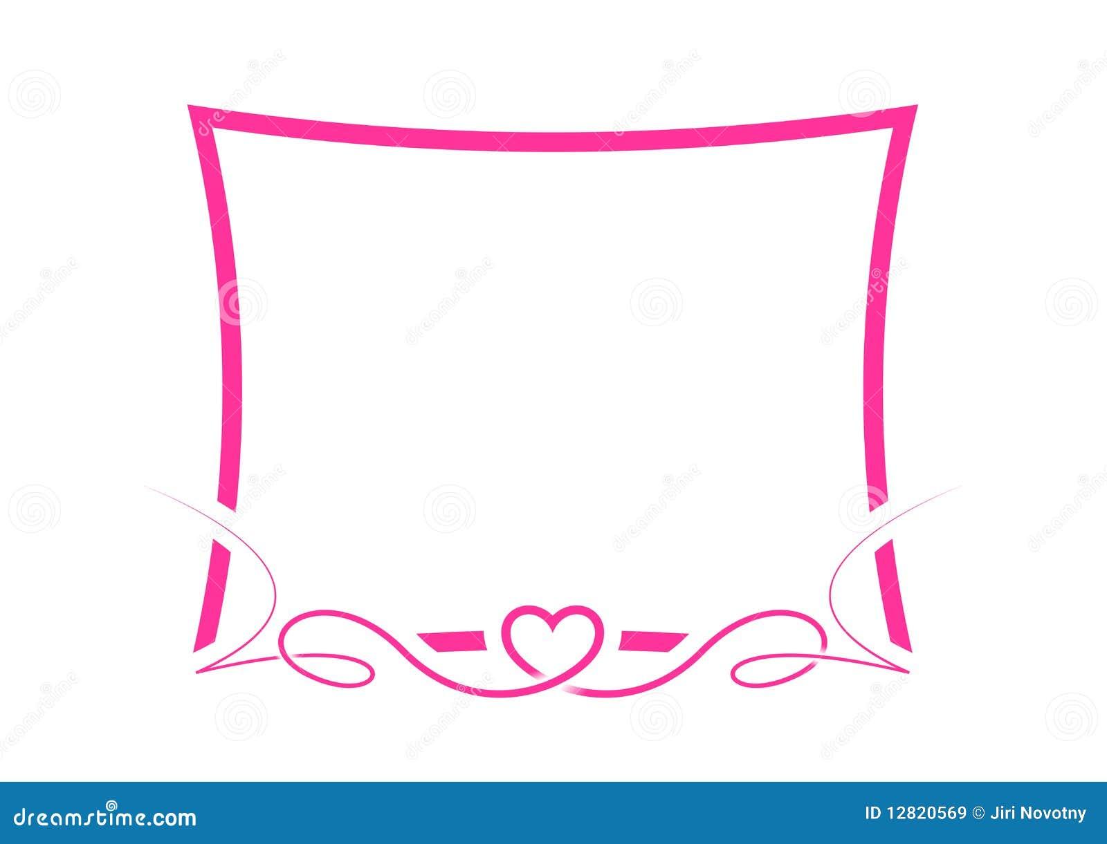Valentine border paper