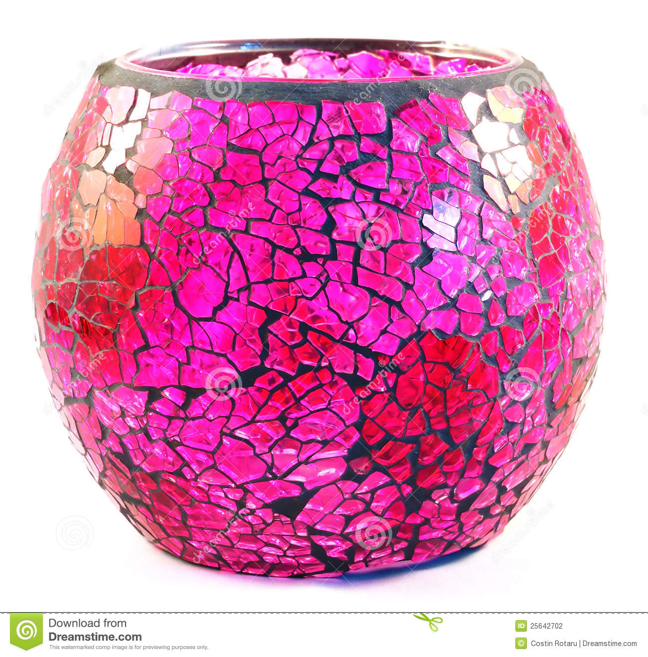 Pink Vase Stock Photography Image 25642702