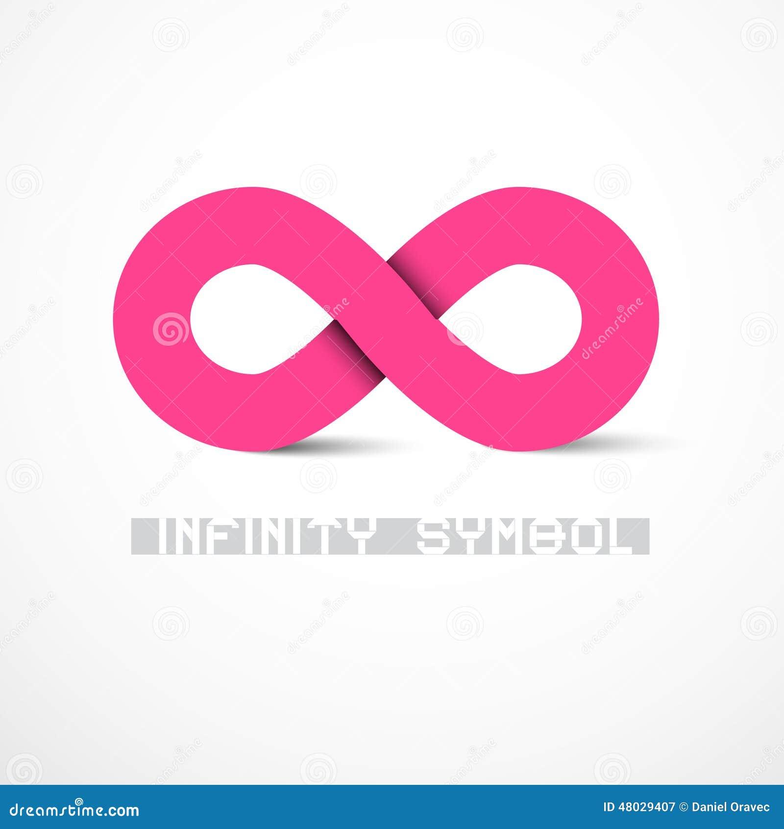 Pink vector infinity symbol stock vector illustration of pink vector infinity symbol biocorpaavc