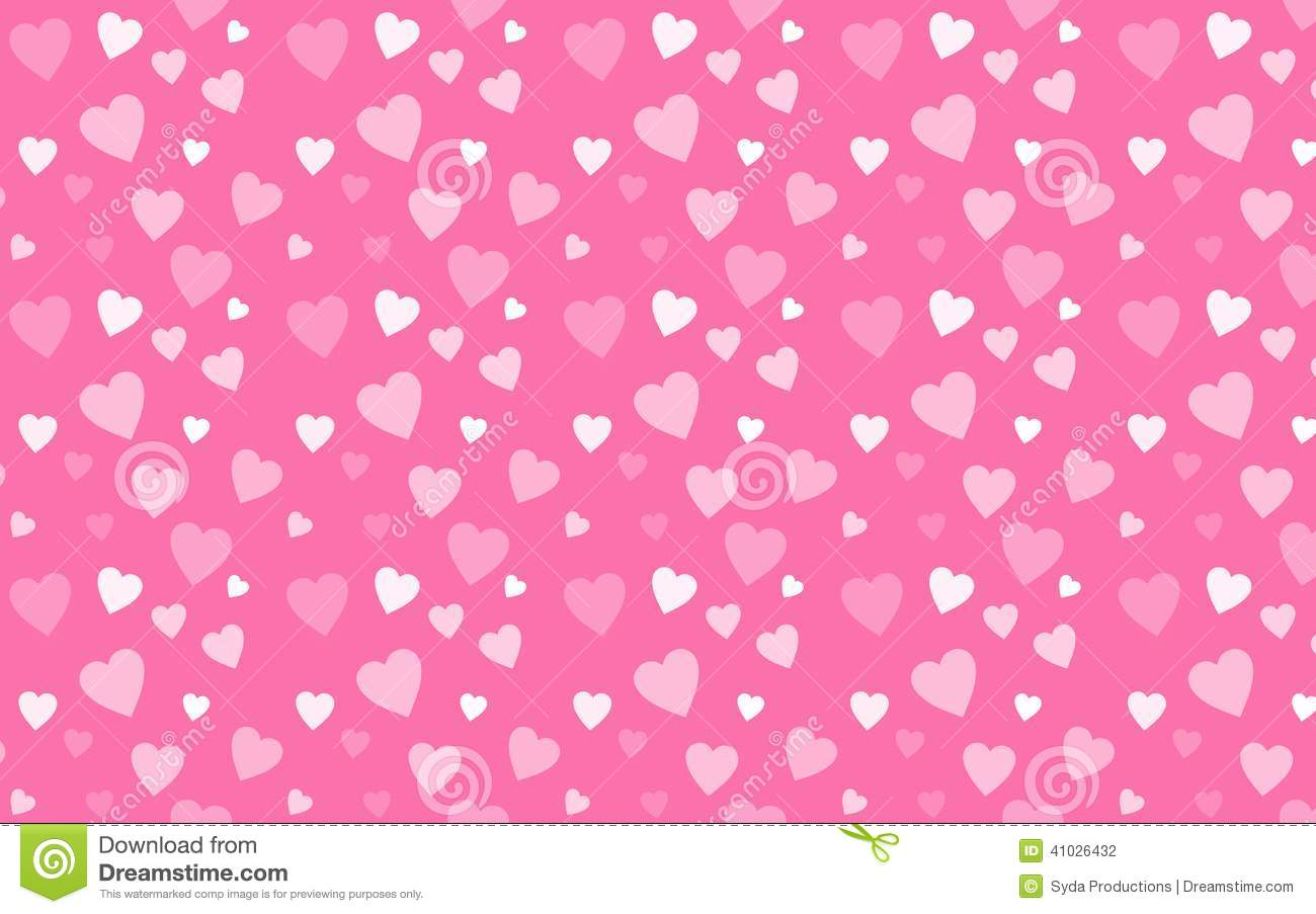 Pink Wallpaper With Wh...