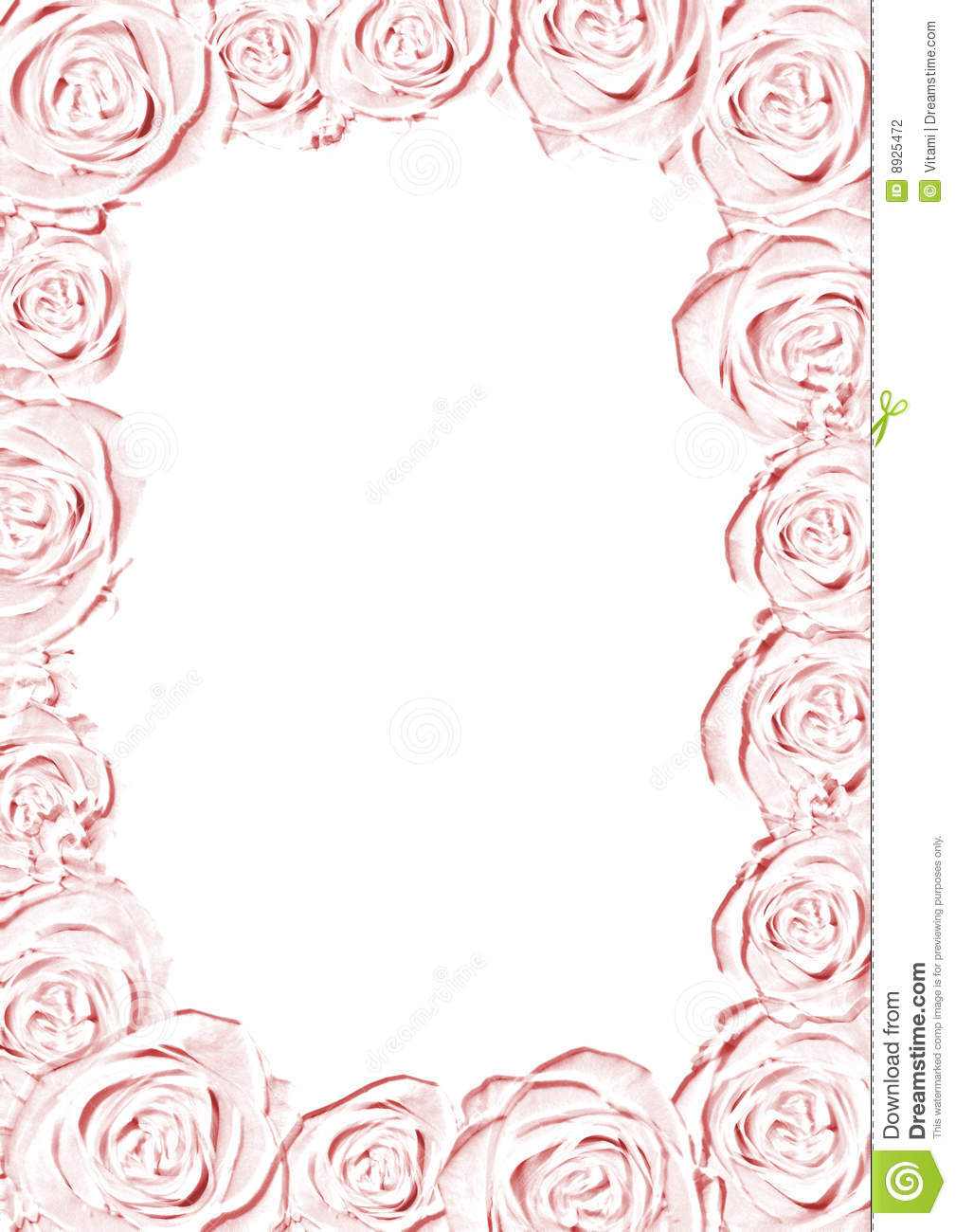 pink wedding frame
