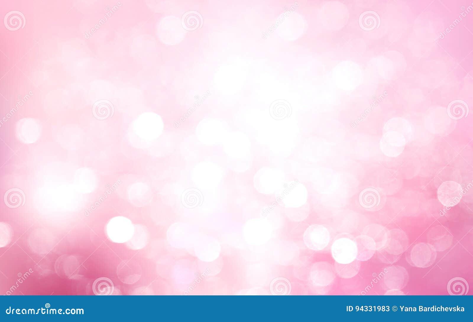 pink white blurred bokeh background splash design holiday xmas christmas wallpaper valentine day card romantic blur 94331983