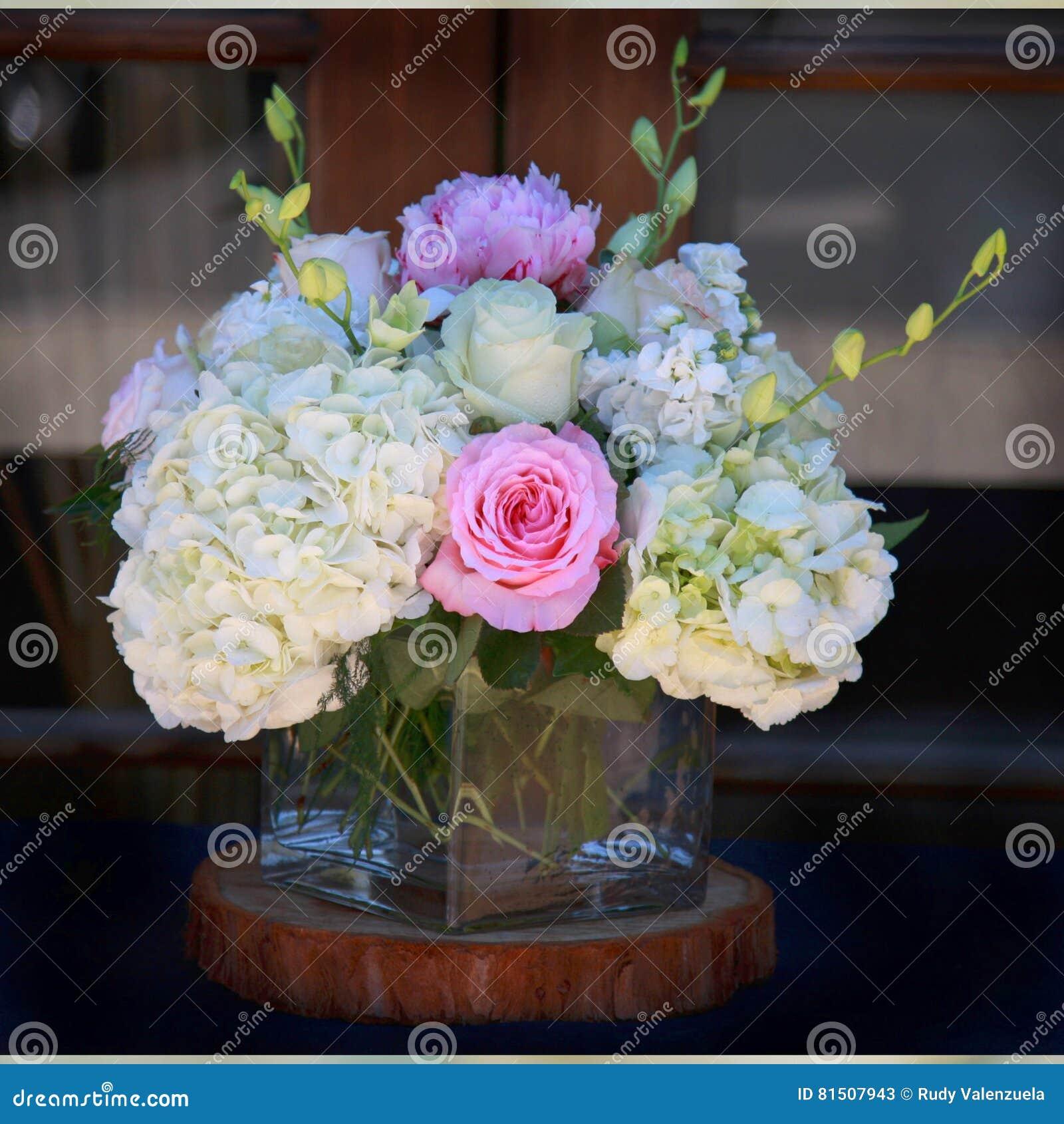 Pink white flower arrangement stock image image 81507943 royalty free stock photo reviewsmspy