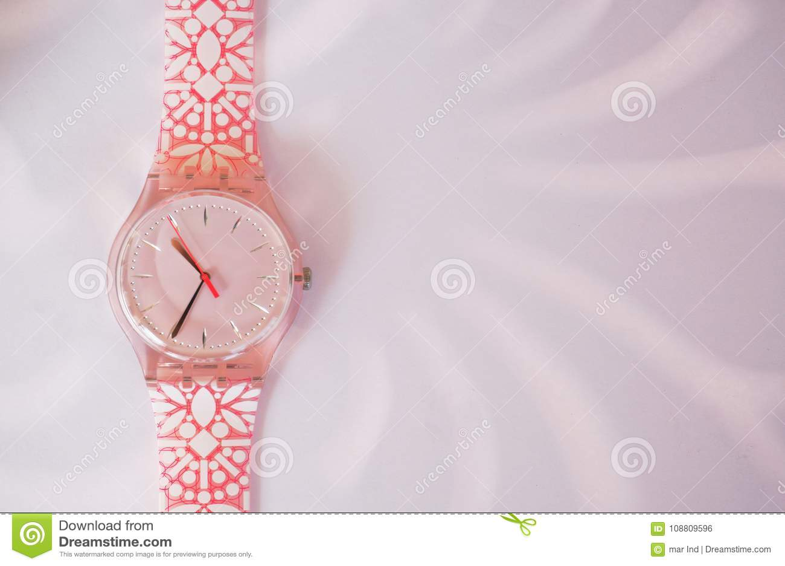 Pinky zegarek