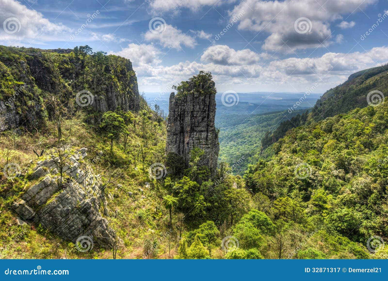 Pinnacle Rock, Mpumalanga, South Africa Stock Image ...