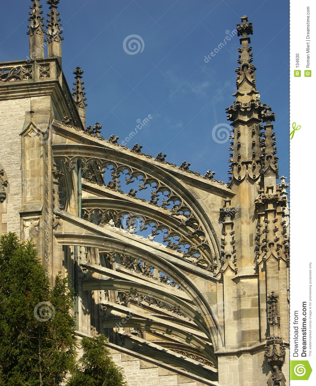 Pinnacles And Flying Buttresses