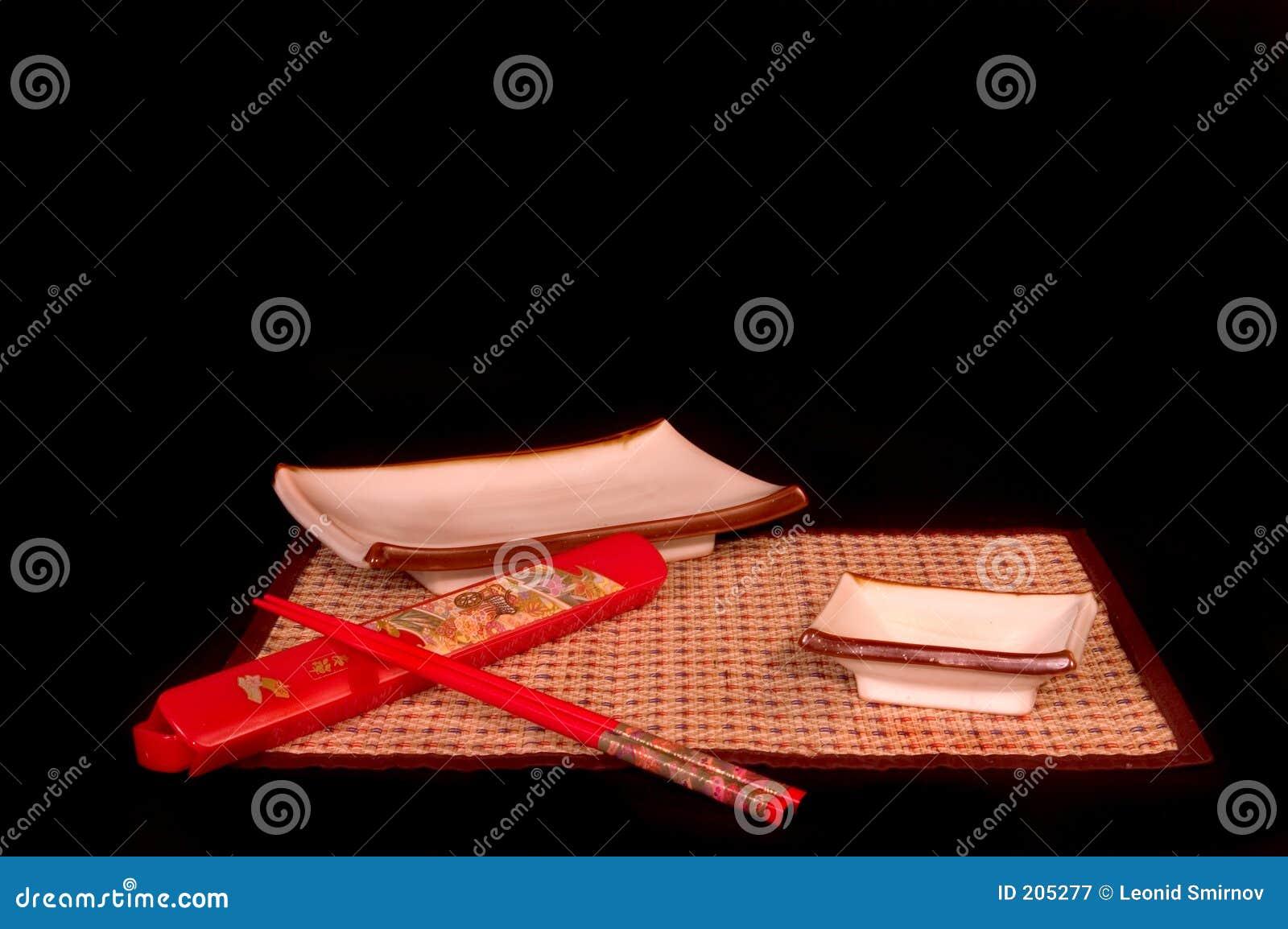 Pinnar ställde in sushi