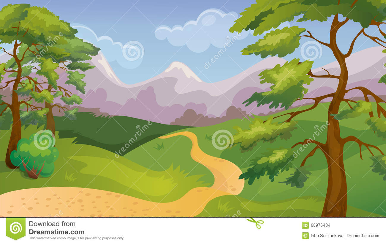 Pinos Forest Game Background