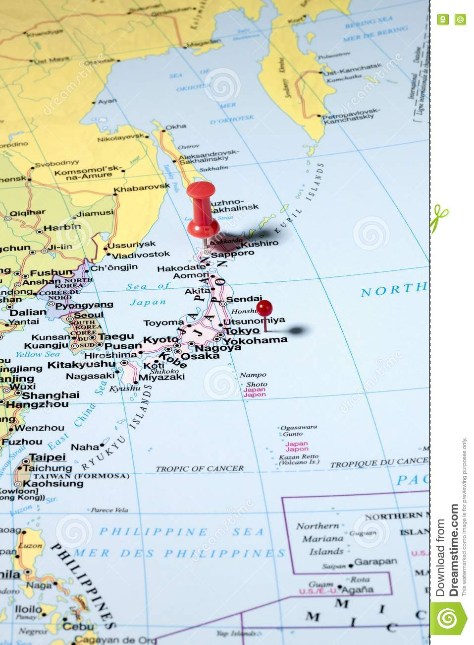 pins on world map stock image image of cutout education 72615215