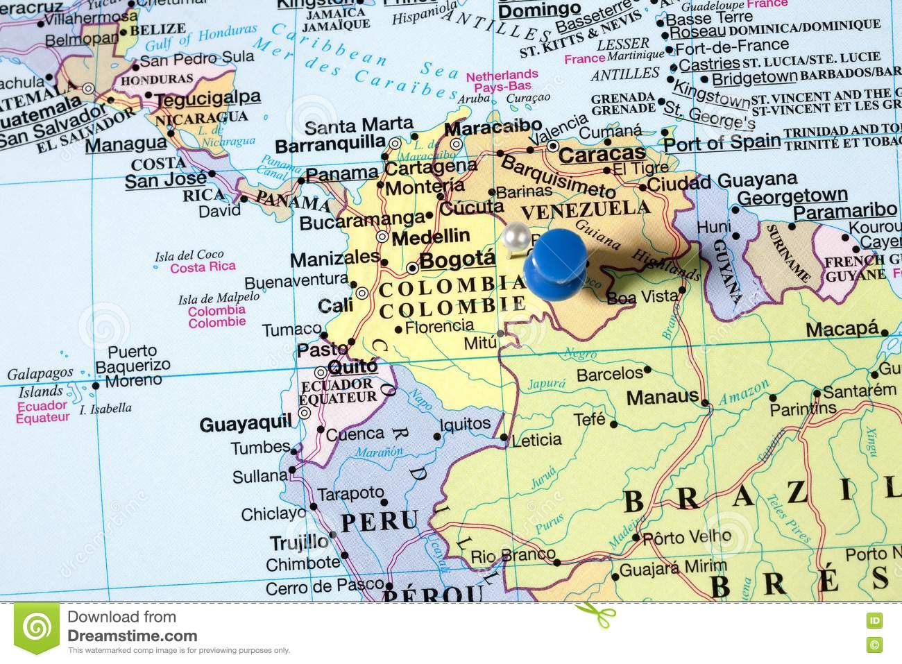 pins on world map stock photo image of countries education 72615248